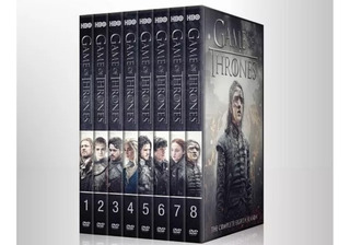 Game Of Thrones Las 8 Temporada Completa En Full Dvd Latino
