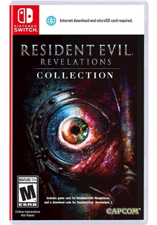 Juego Resident Evil Revelations Collection Nintendo Switch