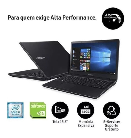 Notebook Gamer Samsung X41, I7, P. Vídeo Dedicada 2gb, 1tb