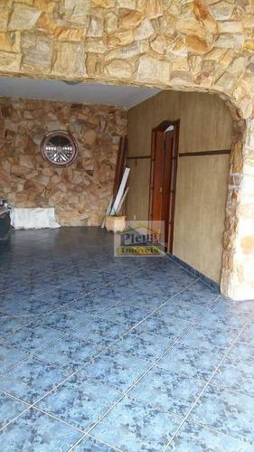 Casa Com 3 Dormitórios À Venda, 180 M² - Jardim Primavera - Sumaré/sp - Ca3982