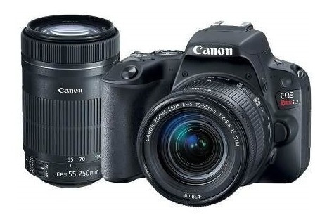 Canon Sl2 Premium 2 Lentes Ef-s 18-55mm Ef-s 55-250mm