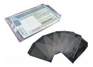 Protetor / Porta Documento Pvc P/ Cnh Brilho C/100 Unid