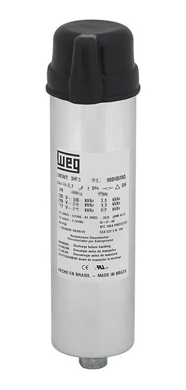 Capacitor Trifásico Weg 480v Ucw-t 0,75/5.6