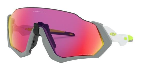 Óculos Oakley Flight Jacket Fosco Nevoeiro Prizm Road