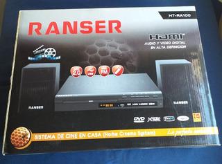 Reproductor Dvd Ranser Ra100 - Radio Fm Hdmi Parlantes