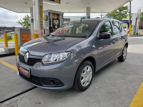 Renault Sandero 2018 Completo 1.0 Flex 3 Cil 20.000 Km Novo