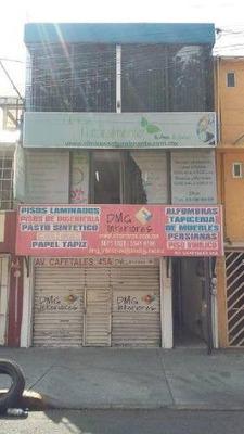 Oficina Comercial En Renta En Culhuacan Ctm Secc. X