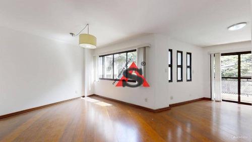 Apartamento Com 4 Dormitórios À Venda, 160 M² Por R$ 1.800.000,00 - Higienópolis - São Paulo/sp - Ap43664