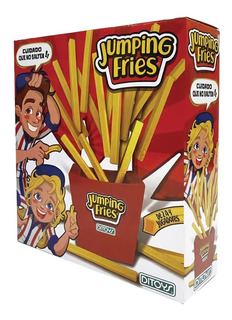 Juego De Mesa Ditoys Jumping Fries Papas Fritas Saltarinas P
