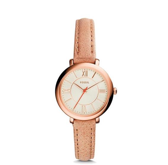 Reloj Fossil Es3802 Para Mujer Correa De Piel
