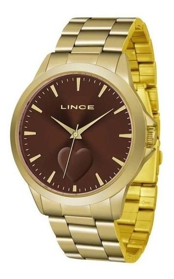 Relógio Lince Lrgj097l Urban Classico Analogico   Vitrine