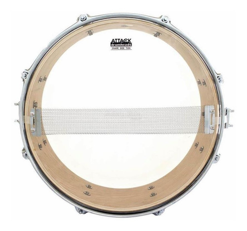 Pele Attack Drumheads Snare Side Hazy Thin 14¨ Ss14t Respost