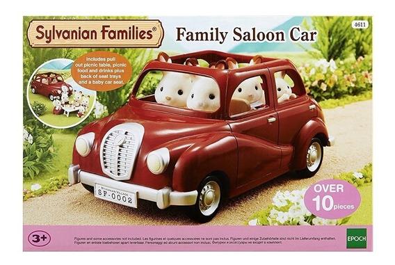 Sylvanian Families Auto Familiar Con Accesorios 5270