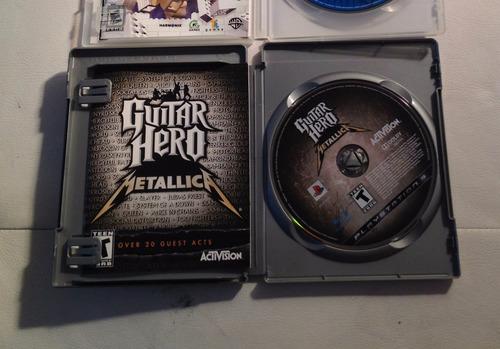 Guitar Hero Metallica Ps3