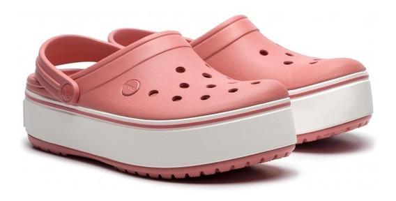 Sueco Crocs Platform Clog Mujer Pk