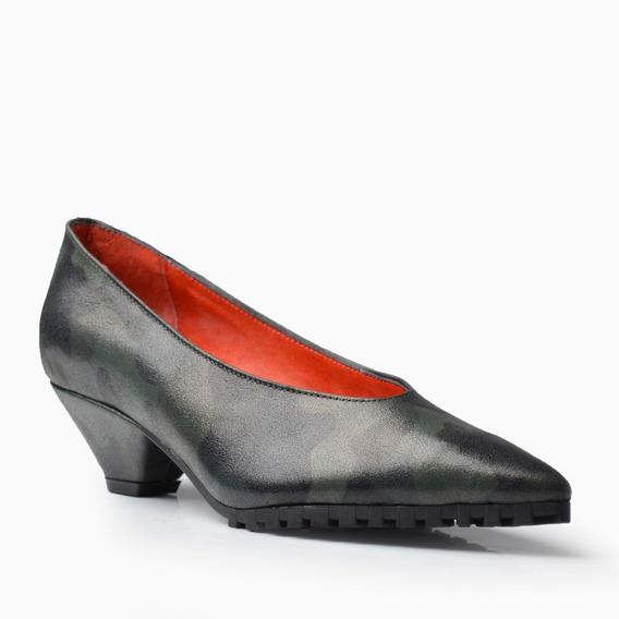 Zapatos De Mujer De Cuero Bajo Hanoi - Ferraro -