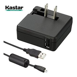 Adaptador De Ca Kastar Y Cable Uce6 Para Camaras Digitales N