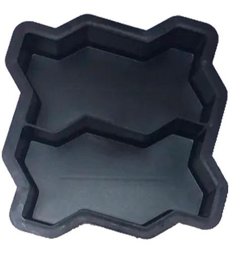 Imagem 1 de 10 de Forma Dupla Intertravada P/bloquete De Cimento 10peças!!