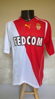Camisa Futebol Do Monaco Da França - Chevanton