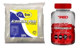 Hormobolic Gh Booster 100 Tabs + Albumina Pura 500g