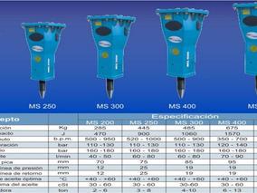 Martillo Hidraulico Para Minicargador / Retro / Excavadora