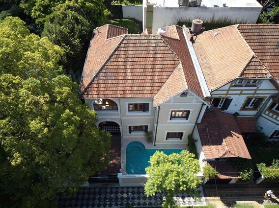 Casa En Alquiler, La Lucila - Vicente López, Jardín Y Pileta Climatizada