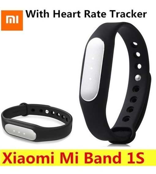 Smart Band Mi 1s Monitor Esporte Ip67 Ios Android Xiaomi