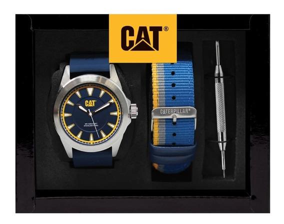 Reloj Para Caballero Cat Sets Set114026627 Azul