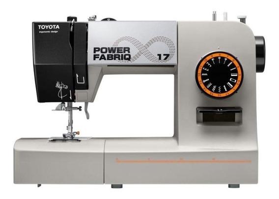 Máquina de coser Toyota Power Fabriq 17 blanca 220V