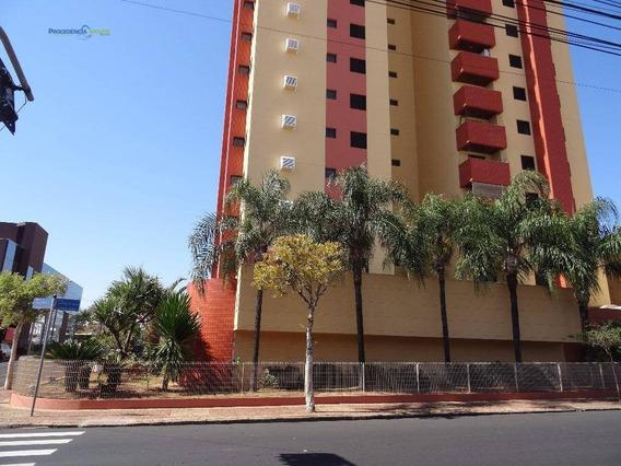 Apartamento Espaçoso Para Locação, Vila Redentora, São José Do Rio Preto. - Ap6830