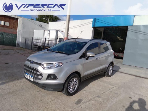 Ford Ecosport 3500 Y 48 Cuotas En Pesos 1.6 2017 Impecable!