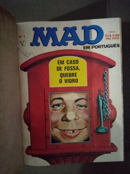 Encadernado Mad Do N.°1 Ao 12 Ed. Vecch 1974, E N.°s 161,162