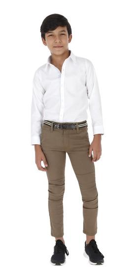 Pantalón Casual Niño - Gabardina