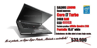 ¡¡¡poderosisima Laptop Workstation Lenovo Corei7 W530s ¡¡¡