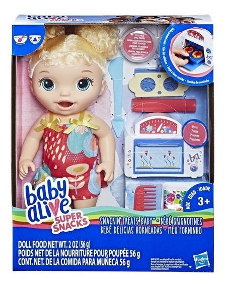 Boneca Baby Alive Meu Primeiro Forninho Loira - Hasbro E1947