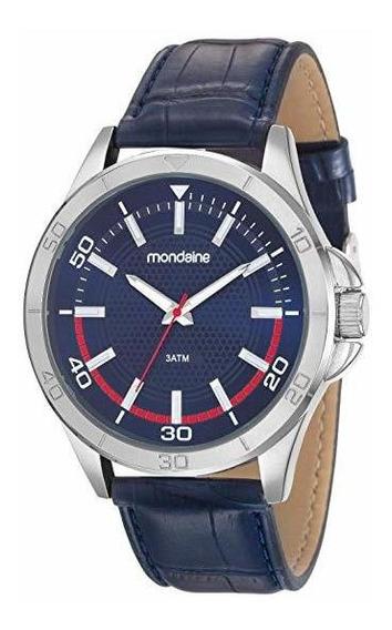 Relógio Social Mondaine Masculino 83375g0mvnh2 Original