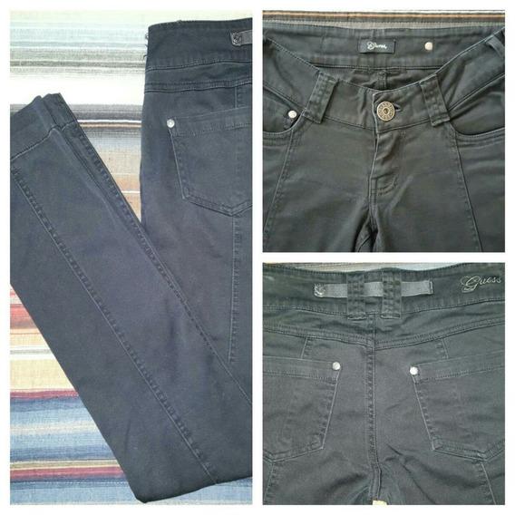 Guess-pantalón Importado De Usa-negro-talle 24/34-