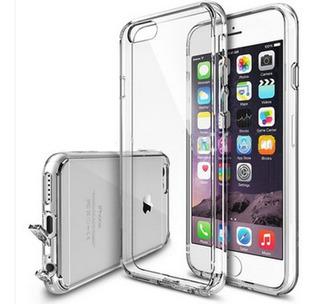 Funda iPhone 6 6s Transparente Tpu Antipolvo Envio Gratis