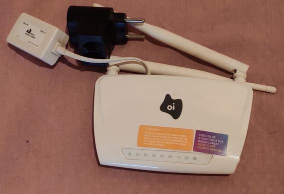 Modem Wi-fi Oi Amg1302-t15c Cabo Ethernet Internet
