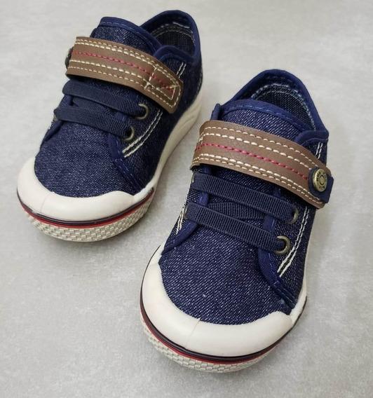 Tênis Klin Toy Baby - Jeans