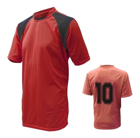 Camisa De Futebol Numerada Jogo 20 Pecas - Personalize