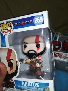 God Of War Muñeco De Kratos Pop De Excelente Calidad