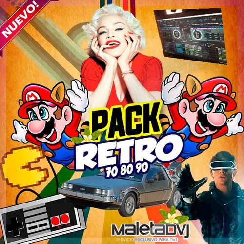 Videos Clasicos 70 80 90 Remixes - Djs Retro - Limpios