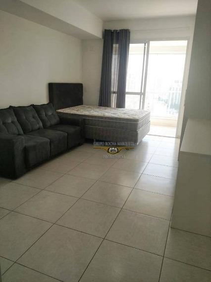 Studio Com 1 Dormitório Para Alugar, 35 M² Por R$ 1.450,00/mês - Tatuapé - São Paulo/sp - St0028