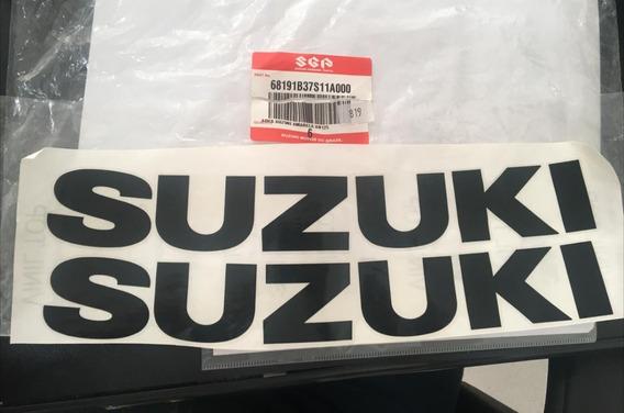 68191b37s11a Adesivo Suzuki Amarela An 125