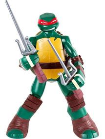 Brinquedo Boneco Tartarugas Ninja Rafael Gigante 55 Cm Mimo