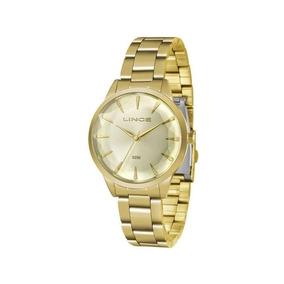 Relógio Lince Feminino Dourado Lrg4563l C1kx