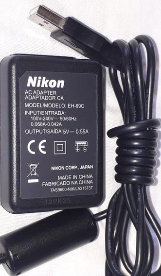 Carregador Eh-69c Nikon Para Câmera Nikon Produto Original