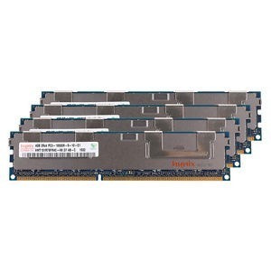 Memoria Ram 4gb Ddr3 Pc3 10600r 1333mhz Hp, Dell E Apple