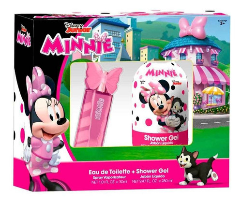 Set Minnie Disney Perfume 30ml + Gel De Ducha 280ml